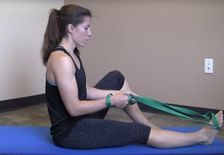 ANKLE SPRAIN HOME EXERCISE PROGRAM