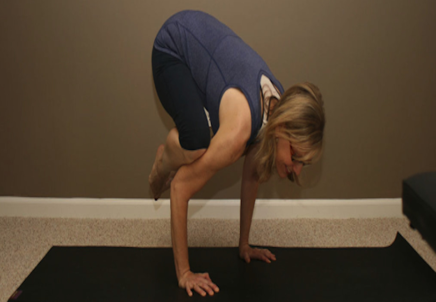 Patient is able to do yoga again after shoulder surgery