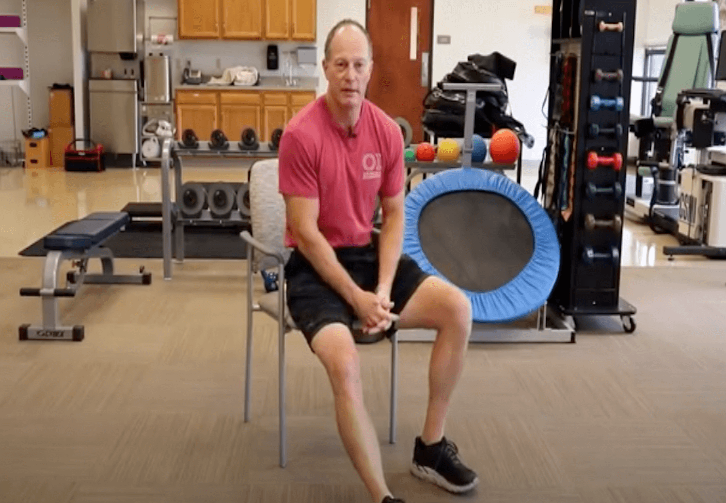 Early pre-surgery knee exercises