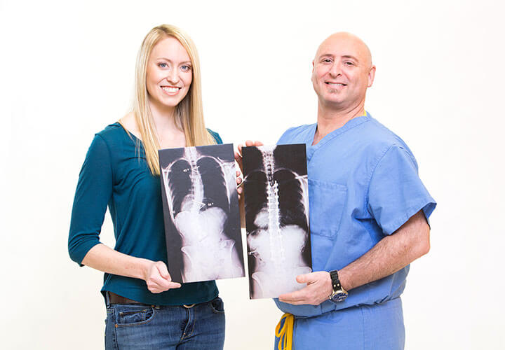 Scoliosis patient experiences life without pain