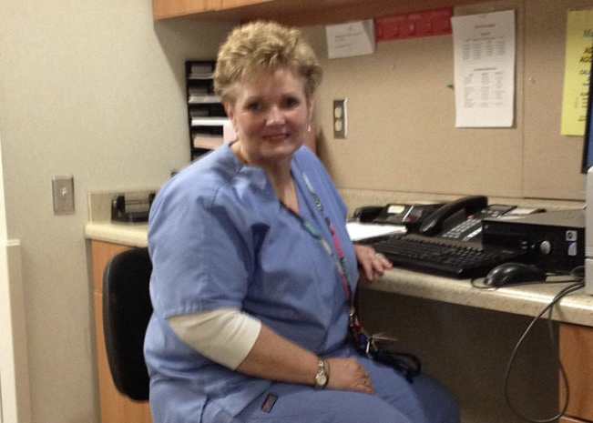 Knee replacement allows nurse to continue career