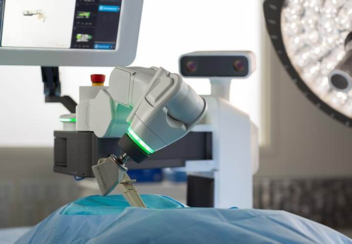 OrthoIndy Mazor X Robotics Guidance System
