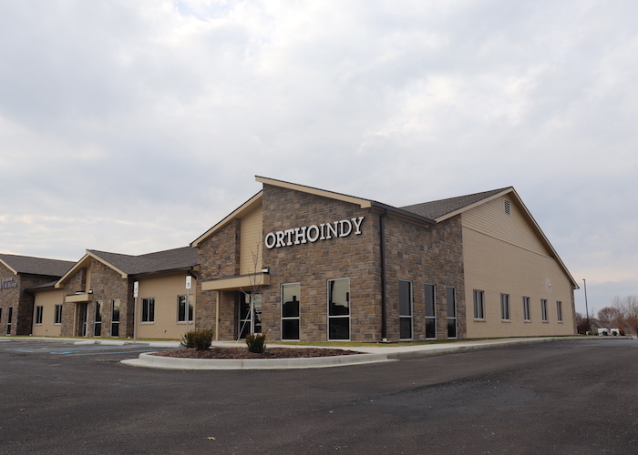 OrthoIndy Center Grove Clinic location