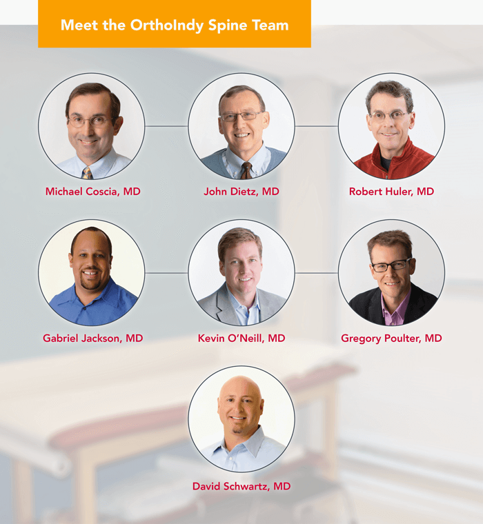 Meet the OrthoIndy Spine Team